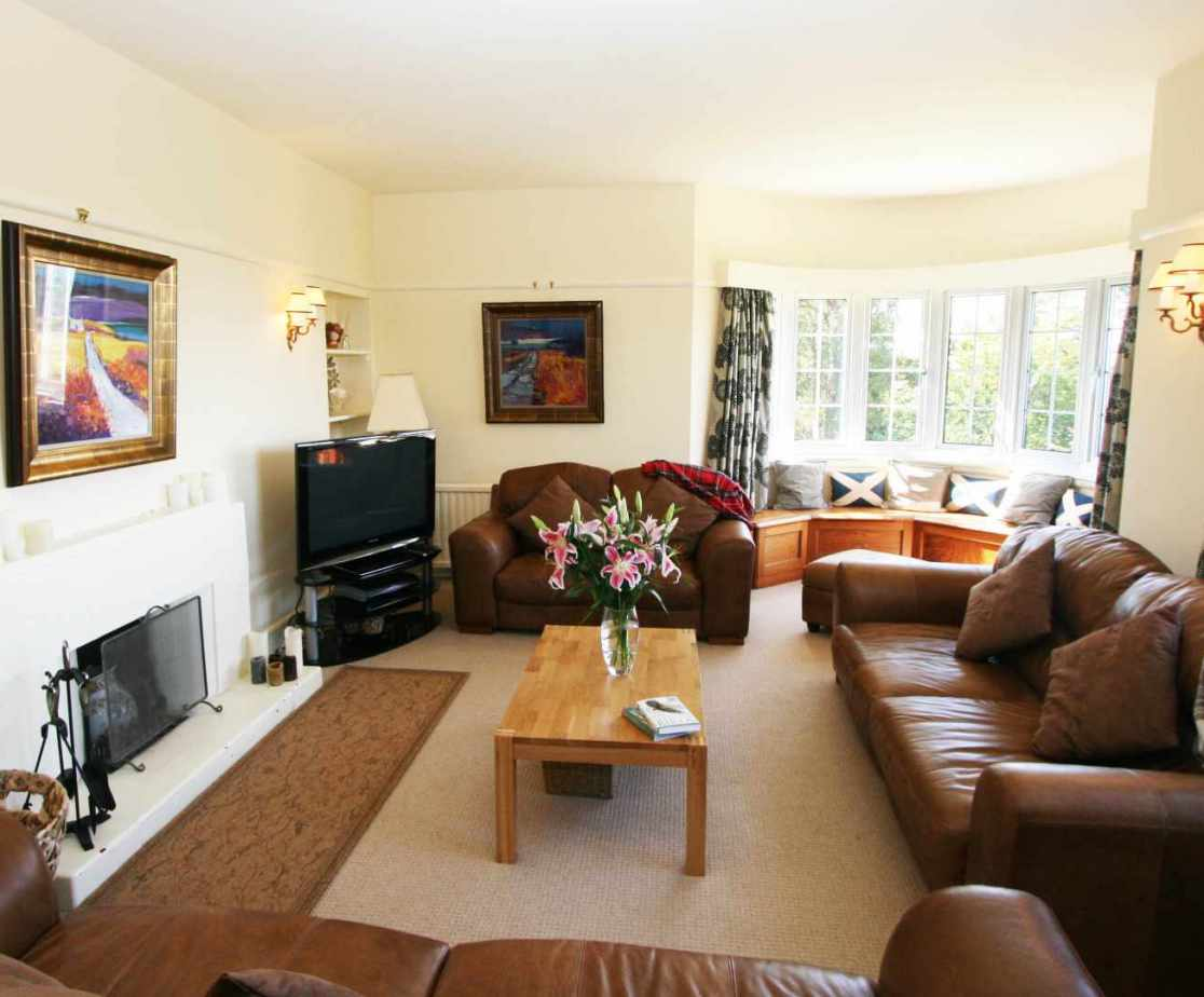 The sitting room is a comfortable room for all the family