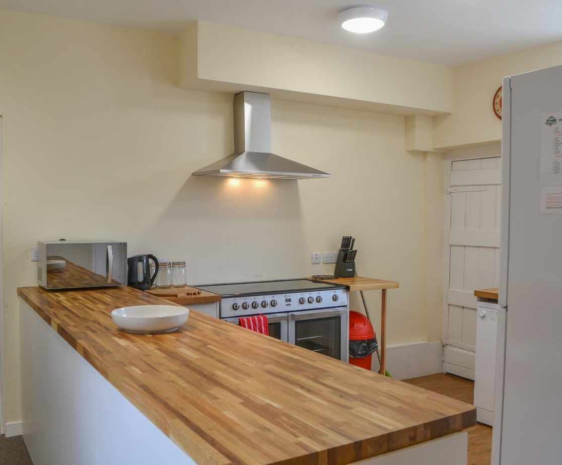 Kitchen with courtyard access