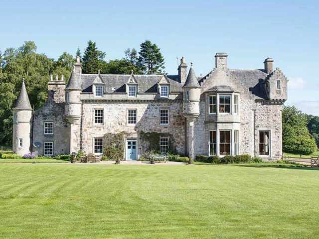Situated within 250 acres of grounds overlooking Bennachie
